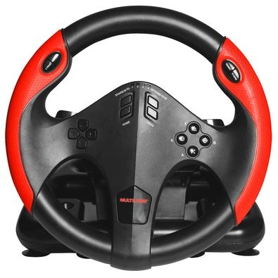 Volante Multilaser PS4, PS3, Xbox One, PC - JS087