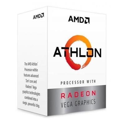Processador AMD Athlon 220GE, Cache 5MB, 3.4GHz, AM4 - YD220GC6FBBOX