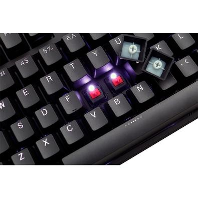 Teclado Mecânico Gamer Ducky Channel LED Branco, Switch Cherry MX Red, US - DKON1608S-RUSPDAAW1