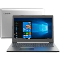Notebook Lenovo IdeaPad 330, Intel Core i3-7020U, 4GB, 1TB, Windows 10 Home, 15.6´, Prata - 81FE000QBR