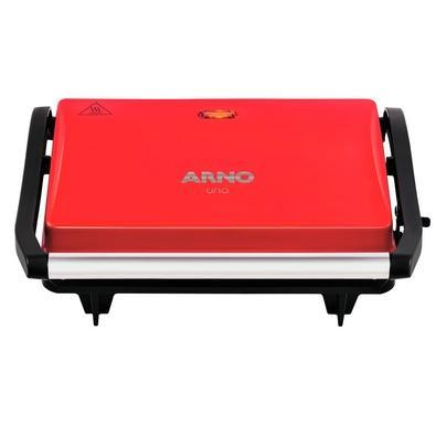 Grill Arno Compacto Uno, 220V, Vermelho - SW3315B1