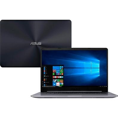 Notebook Asus VivoBook 15, Intel Core i5-8250U, 8GB, 1TB, NVIDIA GeForce 930MX 2GB, Windows 10 Home, 15.6´, Cinza - X510UR-BQ291T