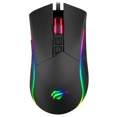 Mouse Gamer Havit RGB, 7 Botões, 7200DPI - HV-MS1001