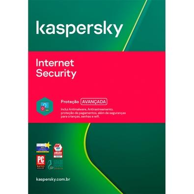 Kaspersky Internet Security 2020 Multidispositivos 1 PC Renovação - Digital para Download