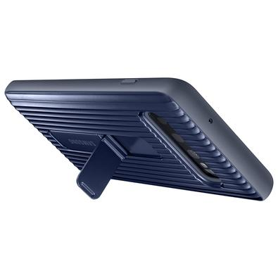 Capa Protetora Samsung Protective Standing para Galaxy S10, Preta - EF-RG973CBEG