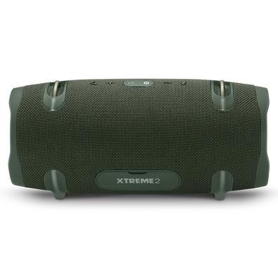Caixa de Som Portátil JBL Xtreme 2, Bluetooth, 40W RMS, Micro USB, à Prova D´Água, Verde - JBLXTREME2GRNBR
