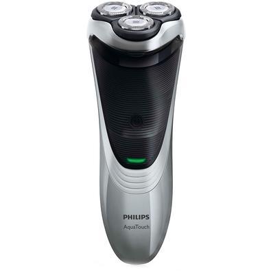 Barbeador Philips Aquatouch Plus, Sem Fio, Seco/Molhado, Bivolt - AT891