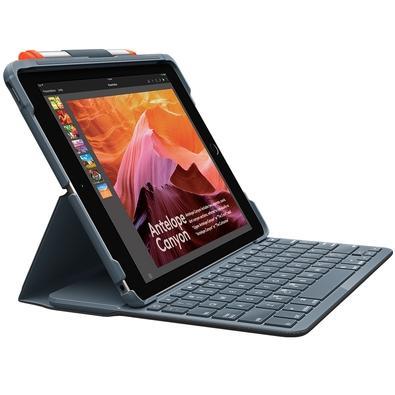 Capa Logitech Slim Folio com Teclado Para iPad 5ª e 6ª geração - 920-009017
