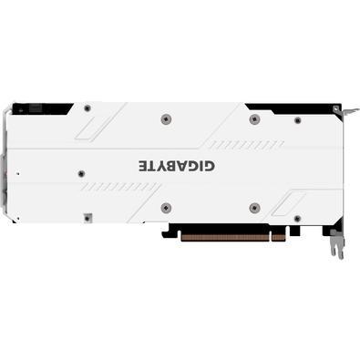 Placa de Vídeo Gigabyte NVIDIA GeForce RTX 2060 Gaming OC Pro White 6G, GDDR6 - GV-N2060GAMINGOC PRO WHITE-6GD
