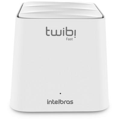 Conjunto Roteador Intelbras Twibi Fast, Mesh AC 1200, 2 Unidades, Branco - 4750071