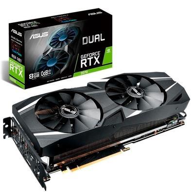 Placa de Vídeo Asus Dual NVIDIA GeForce RTX 2080 8GB, GDDR6 - DUAL-RTX2080-8G