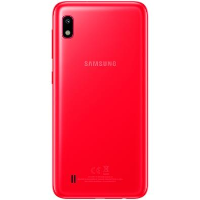 Smartphone Samsung Galaxy A10, 32GB, 13MP, Tela 6.2´, Vermelho - SM-A105M/32DL