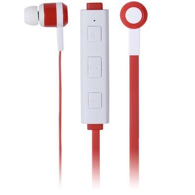 Fone de Ouvido Maxprint Freedom Bluetooth, Vermelho/Branco - 6012292