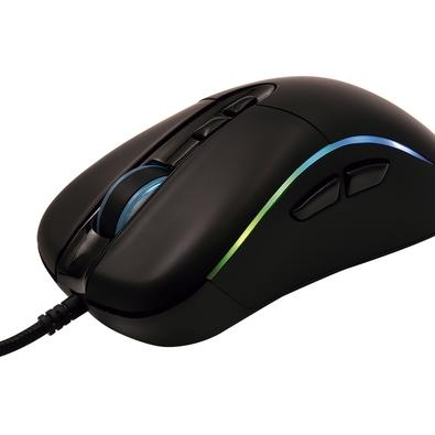 Mouse Gamer OEX Titan, RGB, 7 Botões, 14400DPI - MS318