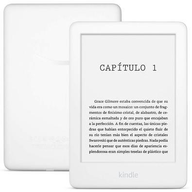 Kindle 10ª Geração Branco, Luz Integrada, Wi-Fi  - AO0741