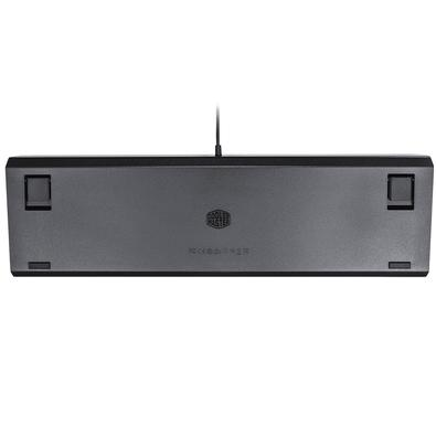 Teclado Mecânico Gamer Cooler Master CK550, RGB, Switch Gateron Red, PT - CK-550-GKGR1