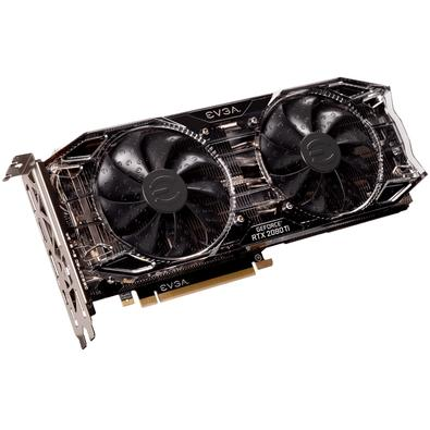 Placa de Vídeo EVGA NVIDIA GeForce RTX 2080 Ti Black 11GB, GDDR6 - 11G-P4-2281-KR