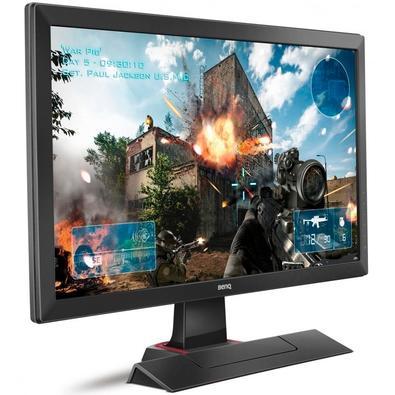 Monitor Gamer Zowie LED 24´ Widescreen, Full HD, HDMI/VGA/DVI, Som Integrado, 1ms, Color Vibrance - RL2455S