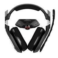 Headset ASTRO Gaming A40 TR + MixAmp M80 Gen 4 para Xbox One - Preto/Vermelho - 939-001808