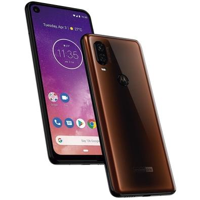 Smartphone Motorola Moto One Vision, 128GB, 48MP, Tela 6.3´, Bronze - XT1970-1