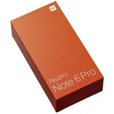 Smartphone Xiaomi Redmi Note 6 Pro, 64GB, 20MP, Tela 6.26´, Azul - CX261AZU