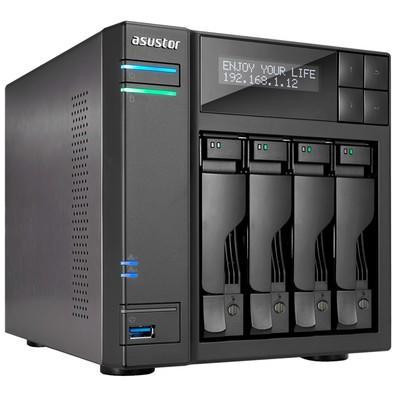 Storage Asustor IronWolf NAS 2GB, HD 20TB, 4 Baias - AS6104T20000