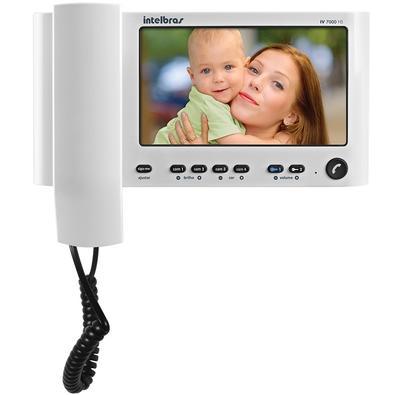 Vídeo Porteiro Intelbras Monitor 7´ Branco - IV 7000 HS