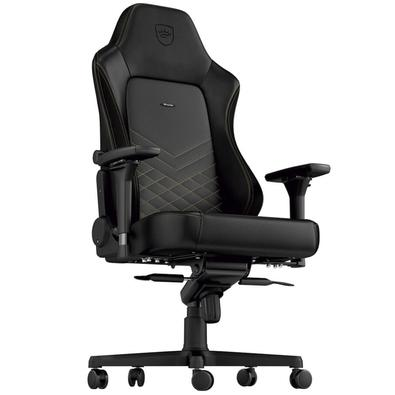 Cadeira Gamer Noblechairs Hero, Black Gold - NBL-HRO-PU-GOL