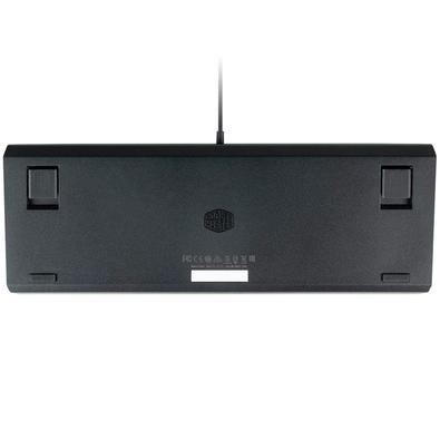 Teclado Mecânico Gamer Cooler Master, RGB, Switch Gateron Red, US - CK-530-GKGR1