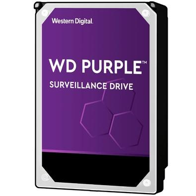 HD WD Purple Surveillance, 8TB, 3.5´, SATA - WD82PURZ