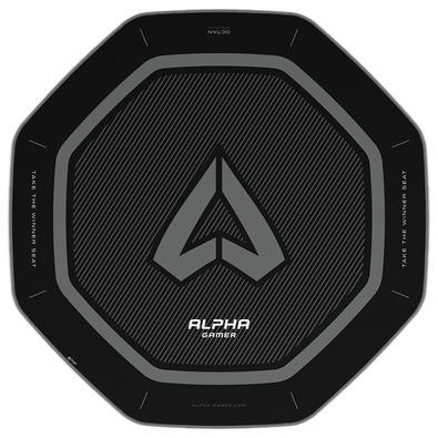 Tapete Gamer Alpha Gamer Octan, Black - AGOCTANBK