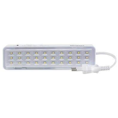 Luminária de Emergência Intelbras 55 Lumens Autônoma LED Bivolt - LEA 30 4630031