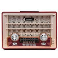 Rádio Portátil Telespark Admiral Plus - Bluetooth, MP3, USB, SD, FM, 10W RMS - 4089