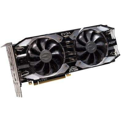 Placa de Video EVGA GeForce RTX 2060 Super XC Ultra Gaming, 8GB, GDDR6 - 08G-P4-3163-KR