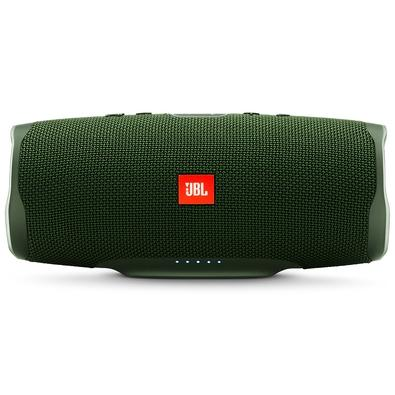 Caixa de Som Portátil JBL Charge 4, Bluetooth, 30W, À Prova D´Água, Verde - JBLCHARGE4GRN