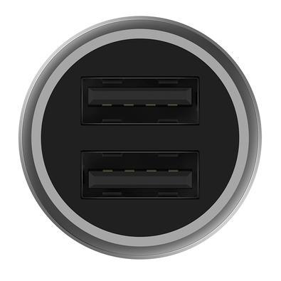 Carregador Veicular Xiaomi Mi Charger Pro, 2 Portas USB, 2.4A/18W, Preto / Prata - XM307PRE-R