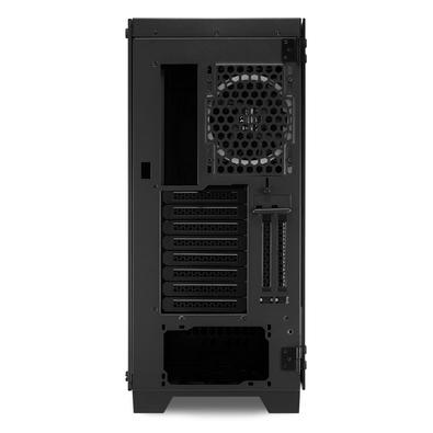 Gabinete Gamer Sharkoon Elite Shark CA200G, ATX, RGB, com FAN, Lateral Vidro
