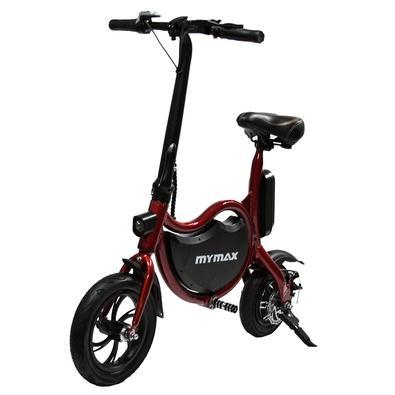Bicicleta Elétrica Mymax Enjoy, até 25km/h, Rodas 12´, Suporta 120kg, Vermelho - MFYF-P12/RD