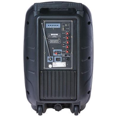 Caixa de Som Amplificadora Multilaser Trolley, 150W Rms, com Alça - SP200