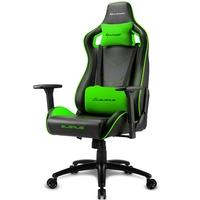 Cadeira Gamer Sharkoon Elbrus 2, Black Green