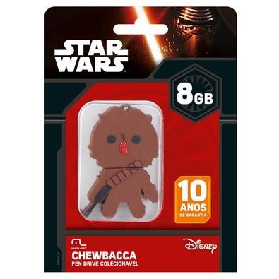 Pen Drive Multilaser Chewbacca, 8GB - PD041
