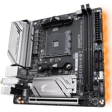 Placa-Mãe Gigabyte B450 I Aorus Pro Wi-Fi, AM4, Mini-ITX, DDR4