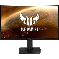 Monitor Gamer Asus TUF Gaming  LCD 31.5´ Widescreen Curvo, QHD, HDMI/Display Port, Som Integrado, 144Hz, 1ms, Altura Ajustável - VG32VQ