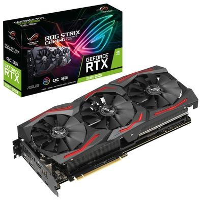 Placa de Vídeo Asus ROG Strix NVIDIA GeForce RTX 2060 Super 8GB, GDDR6 - ROG-STRIX-RTX2060S-O8G-GAMING