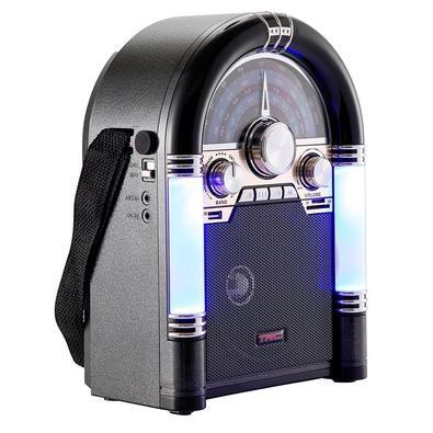 Caixa de Som Portátil TRC 210B, Bluetooth, 35W RMS, USB, Retrô - TRC 210B