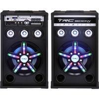 Caixa de Som Amplificada TRC 397, Bluetooth, USB, LED, 500W RMS - TRC 397
