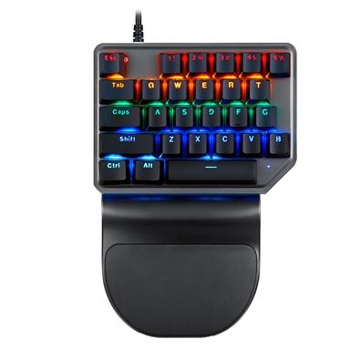 Teclado Mecânico Gamer Motospeed Game Pad K27, LED, Switch Outemu Red, US - BMSTC0022VEM
