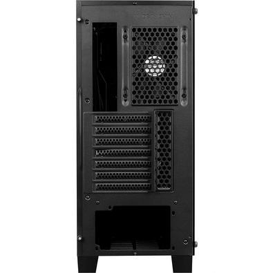 Gabinete Gamer Aerocool Cylon Pro G BK V2 ATX, RGB, com FAN, Lateral em Vidro - 68522