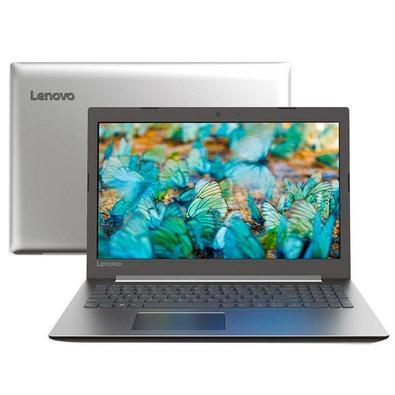 Notebook Lenovo Ideapad 330 Intel Core i3 7020U, 4GB, HD 1TB, Linux, 15.6´, Prata - 81FDS00100