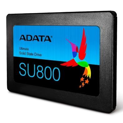SSD Adata Ultimate SU800 256GB, SATA, Leituras: 550MB/s e Gravações: 500MB/s -  ASU800SS-256GT-C